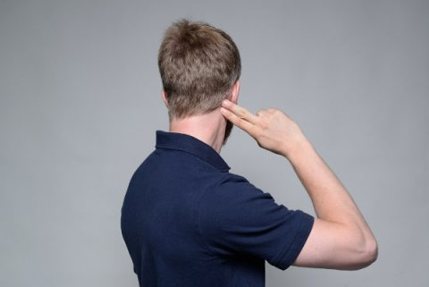Relieve headaches at the top of the head