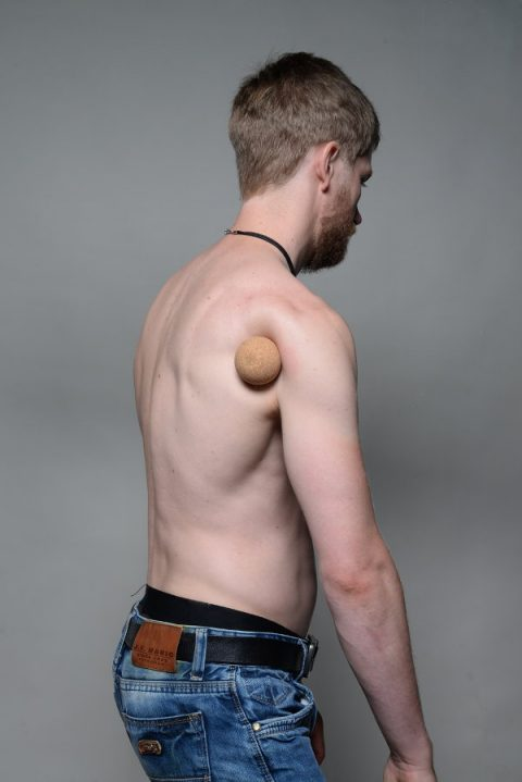 Painful Tension Can Usually Be Found In The Area Of Lower Shoulder Blade And At Transition Between Upper Arm Particular