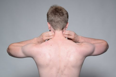 Neck muscle pain relief exercises that work find the painful tensed areas and massage them by applying pressure while slowly moving your head solutioingenieria Gallery