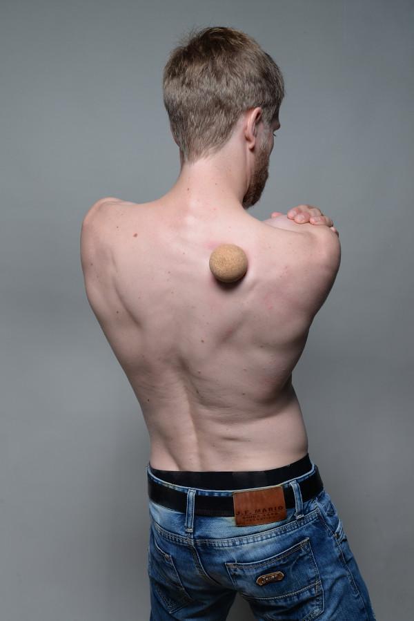 Serratus Posterior Superior Massage Ball Burning Pain Spine Shoulder Blade